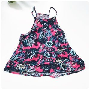 Roxy floral tank top small